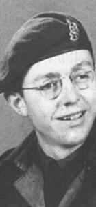 John R. Gates taken in May of 1945 in Brussels.