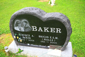 HOZ - Baker Terry and Breda tombstone
