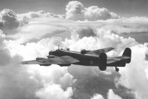 HOZ - Barney Evans - Very fine RAF picture of Handley Page Halifax III