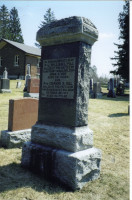HOZ - Edward Robert Hill tombstone in Harrington