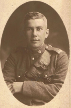 George Alexander Gordon, picture taken overseas during WW 1.