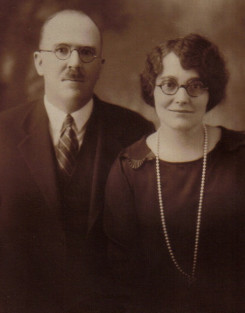 John Gleason and his wife Helen