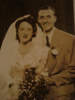 Murray George and Erma on their wedding day.JPG