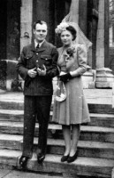 Shewan Arnold  Grace wedding picture March 1944